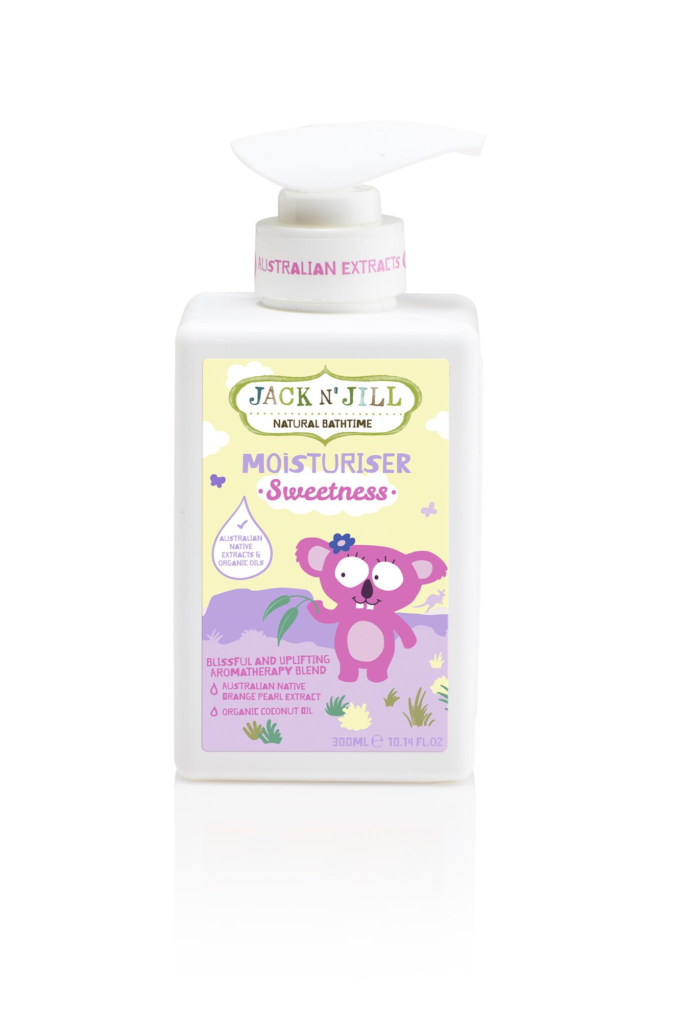 Tělové mléko Sweetness Jack N´Jill NATURAL BATHTIME