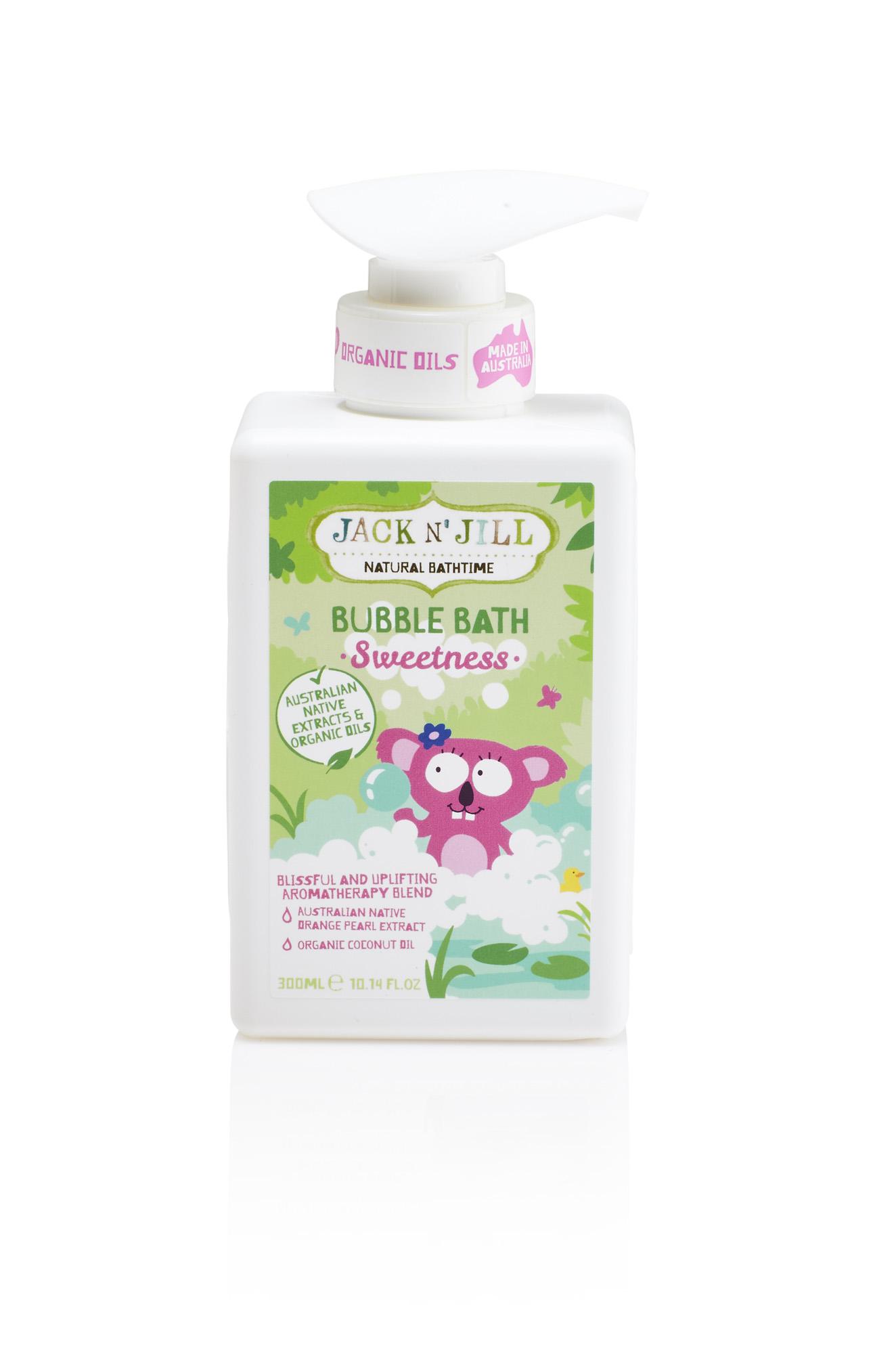 Pěna do koupele Sweetness Jack N´Jill NATURAL BATHTIME
